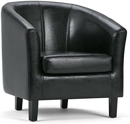 SIMPLIHOME Austin 30 inch Wide Transitional Tub Chair