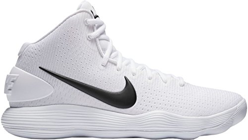 Nike Hommes Hyperdunk 2017 Tb Chaussure De Basket Blanc / Noir-m