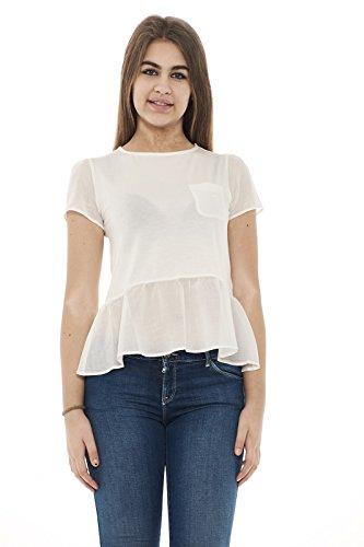 T Emporio Shirt Bianca Bianco Donna Armani FS5wqnUvP