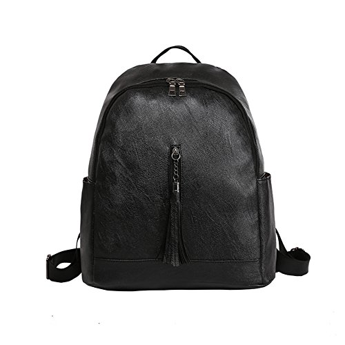 Slendima Sale! Fashion Classic Faux Leather Backpack,Women Girls Casual Lightweight School Travel Day pack - 3 Colors by Slendima