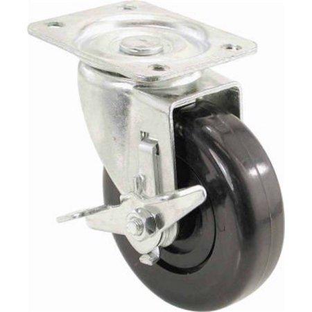 Swivel Plate Polypropylene Caster - 8