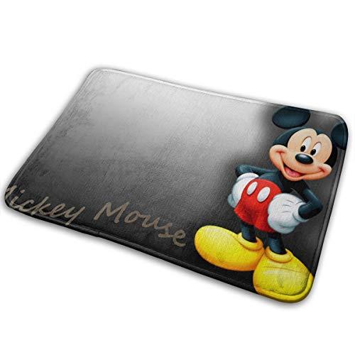 Xzcxyadd Doormat Soft Carpet Entrance Mat Stylish Mickey-Mouse Design for Patio, Front Door, Bathroom, Balcony ()