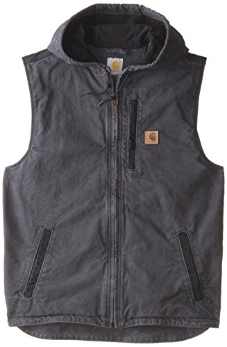 Carhartt Men's Big & Tall Knoxville Vest,Shadow,X-Large Tall