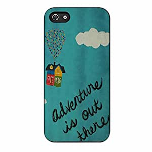 Adventure Is Out There 2 Case for Iphone 5/5s (Black Plastic)