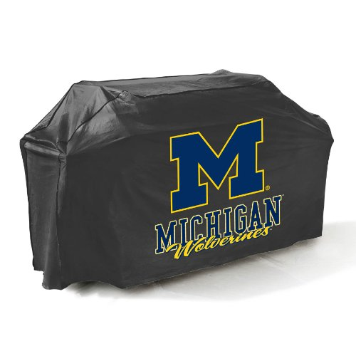UPC 076903077227, Mr. Bar-B-Q, Inc. 07722MICHGD Michigan Grill Cover, Black
