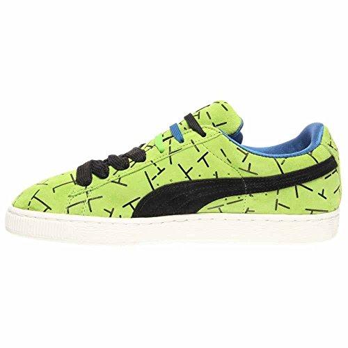 Puma Classic 1993 La Lista Uomo Punta Rotonda In Camoscio Sneakers Verde