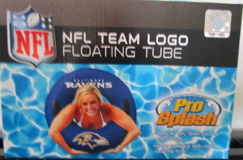NFL Officially Licensed Baltimore Ravens Pro Splash Floating - Pool Team Floats Ncaa