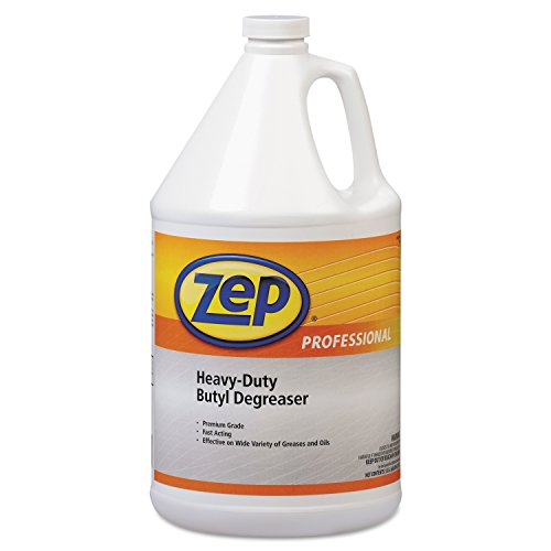 Degreaser 1 Gallon Bottle - Zep Professional 1041483 Heavy-Duty Butyl Degreaser, 1gal Bottle (Case of 4)
