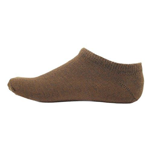 HASHBEAN Men #39;s No show Cotton Socks
