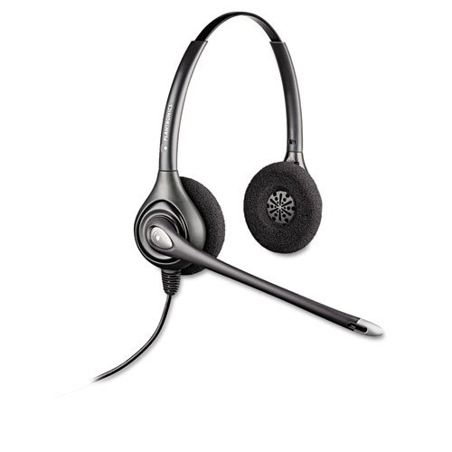 (NEW - SupraPlus Over-Head Cord Telephone Wideband Headset - HW261N by Plantronics)