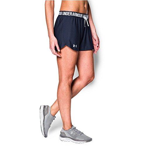Under Armour Women's Play Up Shorts, Midnight Navy/Midnight Navy, X-Large