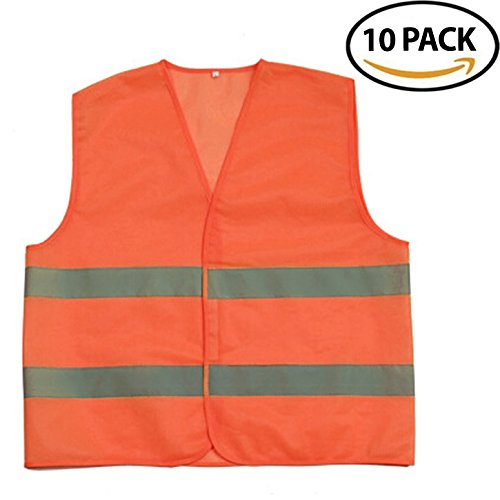 Universal Polyester Life Jacket Vest(Orange) - 8