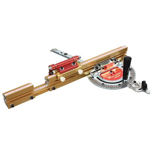 Gauge Saw - Incra MITER1000SE Miter Gauge Special Edition With Telescoping Fence and Dual Flip Shop Stop