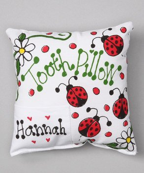 Bunnies and Bows - Ladybugs - Personalized Pillowcase ()