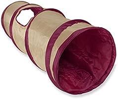 SmartyKat Crackle Chute Túnel plegable para gato