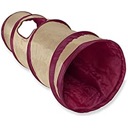 SmartyKat Crackle Chute Collapsible Cat and Dog Tunnel