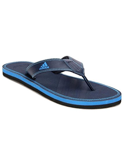 d4eb769ee1f3 Adidas Blue Brizo 4.0 Flip Flops For Men   Boys -9 UK INDIA  Amazon ...