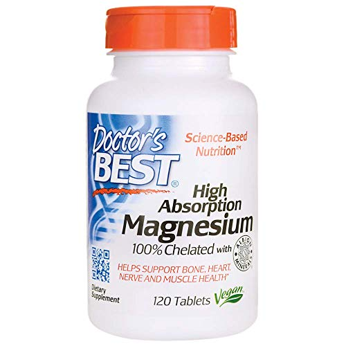 High Absorption Magnesium Doctors Best 120 Tabs