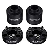 "Supreme Suspensions - Full Lift Kit for 2009-2018 Dodge Ram 1500 4WD 3.5"" Front Lift Billet Strut Spacers + 3"" Rear Lift Delrin Spring Spacers (Black)"