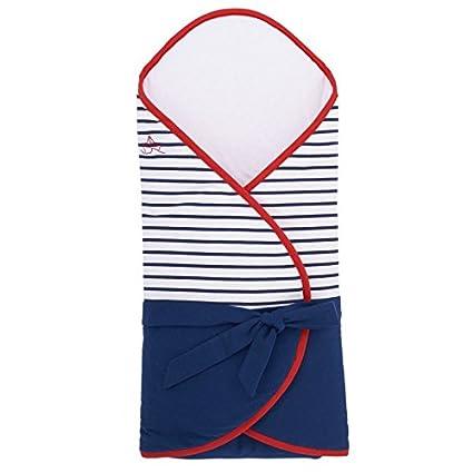 Sevira Kids - Saco de dormir de bebé de estilo marinero, color azul