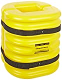 Eagle 1724-12 Mini Column Protector, 24'' Length x 24'' Width x 24'' Height, Yellow, For 12'' Column