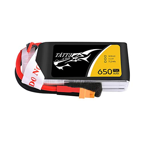 Tattu LiPo Battery 650mAh 11.1V...
