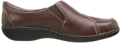 CLARKS Damen Ashland Lane Q Slip-On Loafer Redwood