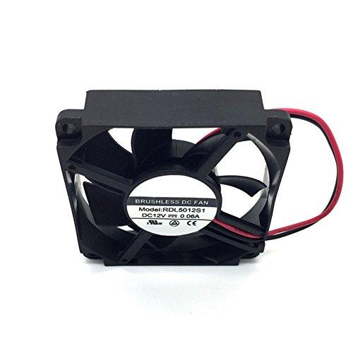 RDL5012S1 5012 12V 0.06A 2Wire Cooling Fan by Z.N.Z (Image #1)