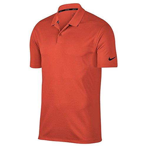 Polo Golf Shirt Black Victory Dry Men's Coral NIKE Rush Solid ZwBp1vTxq
