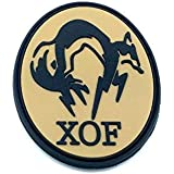 XOF Foxhound Metal Gear Solid PVC Airsoft Patch