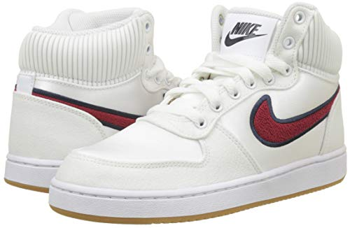 Mujer Zapatos Wmns Blanco white red Crush 100 Prem Nike Baloncesto Para Ebernon De Mid blackened Blue q8RwIxR