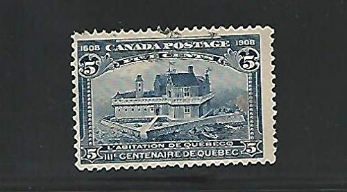 Canada, Postage Stamp, 99 Used, 1908, JFZ