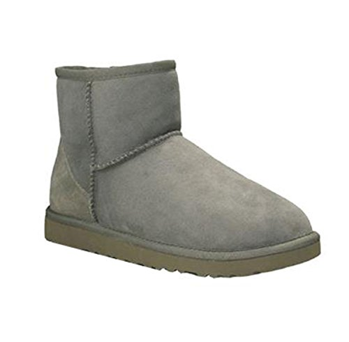 Ozwear UGG Classic Warm Snow Men's Short Boots Greymen AU 10L/EU 42/ US9.5/ UK7.5 (Classic Ugg Mens Short Boots)