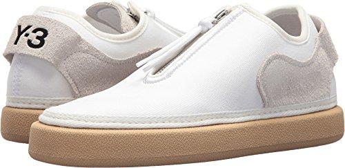 adidas Y-3 by Yohji Yamamoto Women's Comfort Zip Footwear White/Core Black/Core White 6 M UK