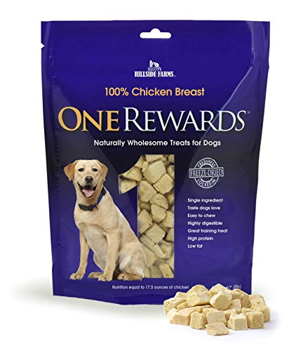 One Rewards Freeze Dried Dog Treats, Chicken Breast, 20 oz.