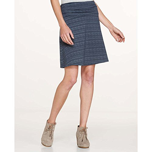 Dot Print Skirt (Toad&Co Women's Chaka Skirt Deep Navy Dot Print Skirt)