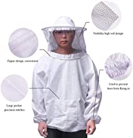 ONEVER 4PCS conjunto de herramientas de traje de apicultura ...