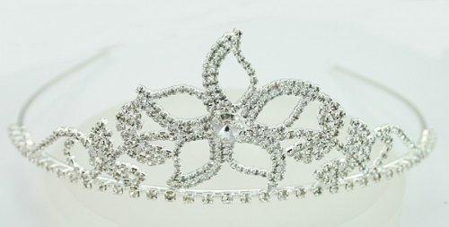 LJ Designs Elegant crystal diamante tiara(T11) by LJ Designs