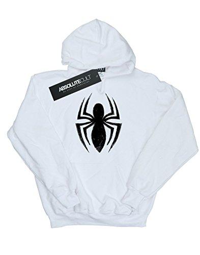 Girl Ultimate White Marvel cappuccio Spider man con Felpa Spider tBRqwRH