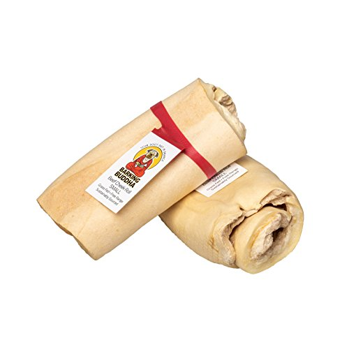 Retriever Rolls Beef - Barking Buddha Beef Cheek Retriever Roll (10 Pack) 5