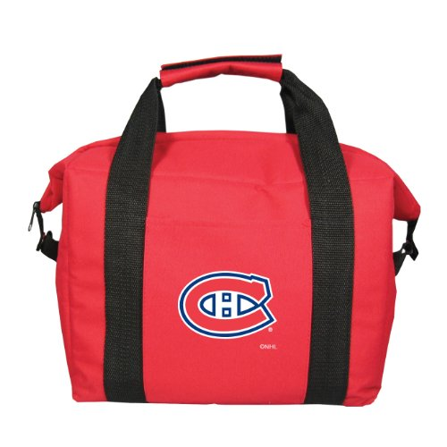 fan products of NHL Montreal Canadiens Soft Sided 12-Pack Cooler Bag