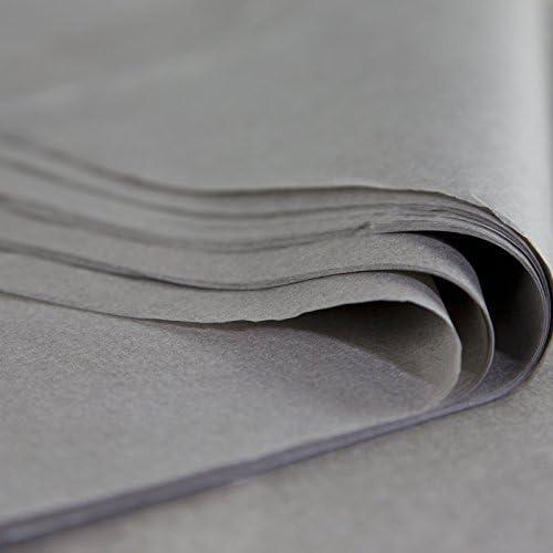 96/Blatt 25/cm x 37/cm fabriqu/ã /© in Frankreich Seidenpapier Pack Wasserfest Premium 18/Gramm grau taupe