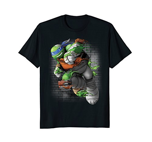 Teenage Mutant Ninja Turtles Leonardo Liquid Green T-Shirt -
