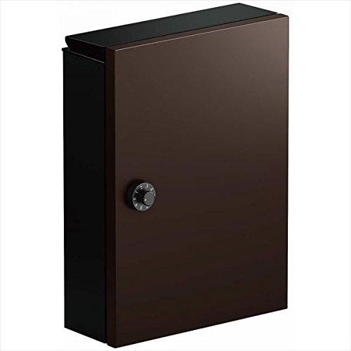 YKK ap エクステリアポストT13型 上入れ前出し AME-TY13 『取付部品は別売です。』 『郵便ポスト』 ダークブラウン B01GYJY038 11600