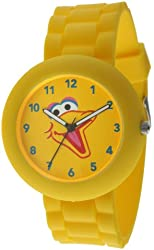 Sesame Street SW612BB Big Bird Yellow Rubber Watch