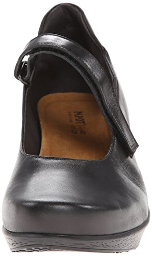 Naot Womens Womens Pump Dress Black Madras Leather