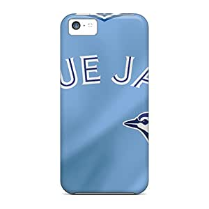 Iphone 5c PPJ13121Nkmj Support Personal Customs High Resolution Toronto Blue Jays Image High Quality Hard Phone Cases -JasonPelletier