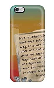 New Style 9261887K60386984 High Impact Dirt/shock Proof Case Cover For Iphone 6 Plus (everyday Love Quote)