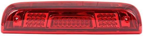 ECCPP LED 3rd High Mount Brake Light Brake Light Cargo Light fit for 2014-2018 GMC Sierra 1500 Chevy Silverado 1500 2015-2018 GMC Sierra 2500HD 3500HD Chevy Silverado 2500HD 3500HD Red Lens LED Light