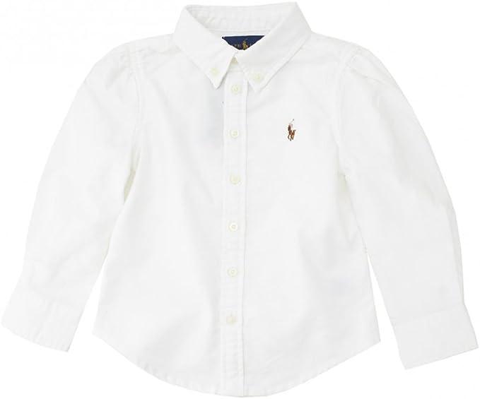 Polo Ralph Lauren Childrenswear - Camisa - para bebé niño blanco ...